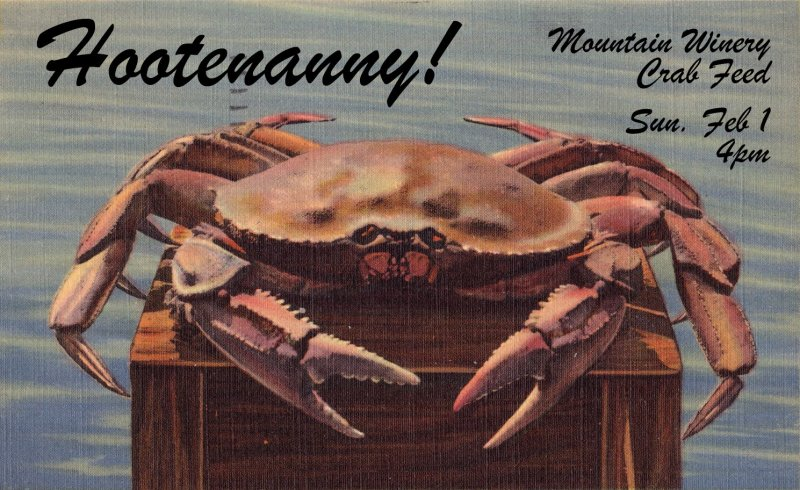 2015.02.01-The Mountain Winery Crab Feed