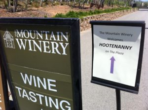 The Mountain Winery Flyer
