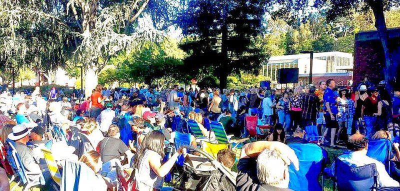 Los Gatos Music in the Park 2016!